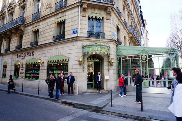 파리여행 3일차 – LA COUPE D'OR, 샹젤리제, 라뒤레, 몽마르뜨