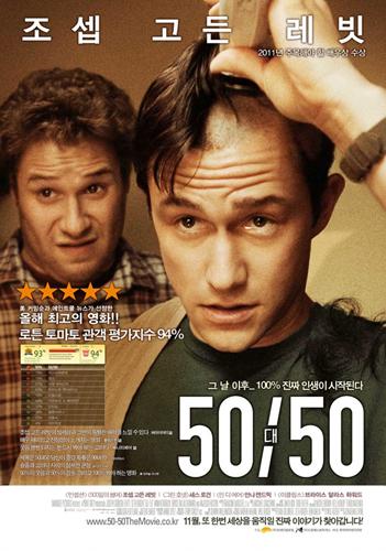 영화 '50/50′ – 암환자의 유쾌한 이야기