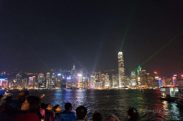 홍콩 야경, 운남쌀국수 (성림거), 몽콕 야시장 – 2014 홍콩여행 1일차